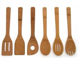 6 Bamboo Kitchen Tools