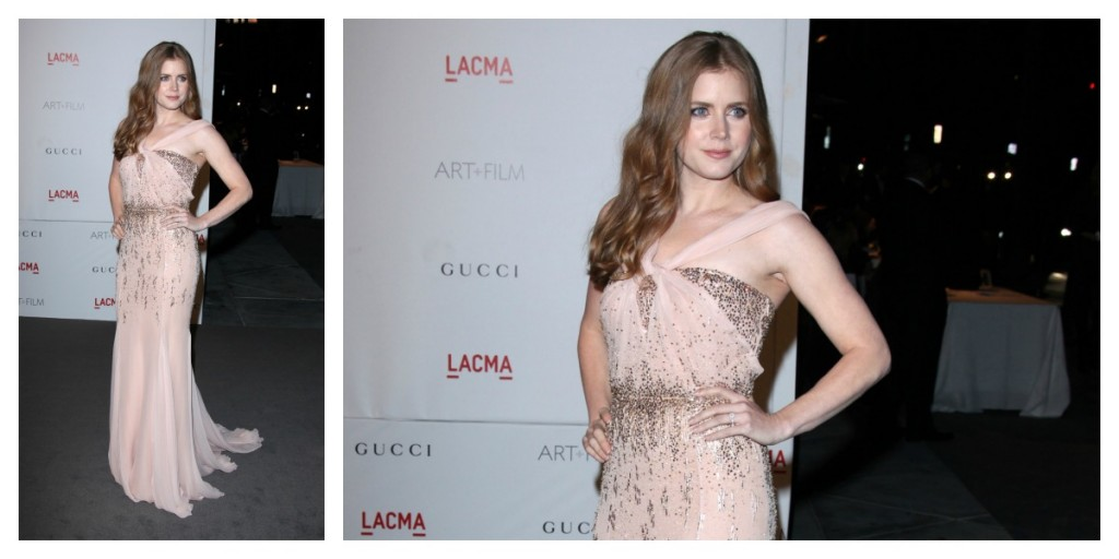 Amy Adams at the LACMA Art and Film Gala 2011