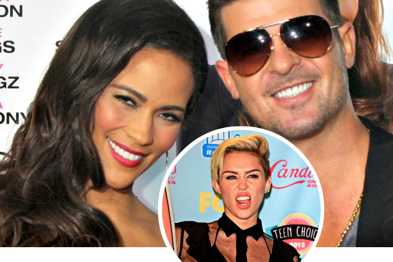 Robin Thick and Paula Patton breakup