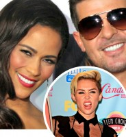Robin Thicke and Paula Patton Break Up Nothing to Do with Miley Cyrus